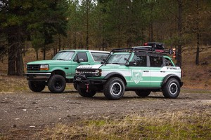 Ford Bronco, con Filson in aiuto a forestali USA (ANSA)