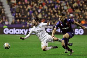 Levante vs Real Madrid (ANSA)