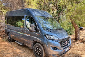 Fiat Ducato Panorama 2.3 140,grandi viaggi in business class (ANSA)