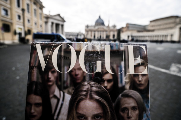 Vogue Italia in piazza San Pietro