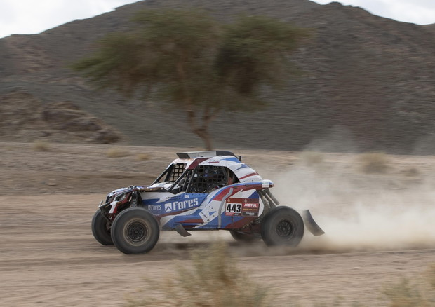 Dakar Rally 2020 stage 4 © EPA