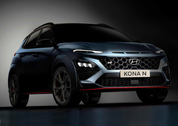 Hyundai Kona N, suv hot con cambio N DCT, arriva in estate © Hyundai Press