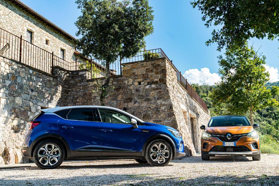 Renault Captur E-TECH plug-in hybrid © Ansa