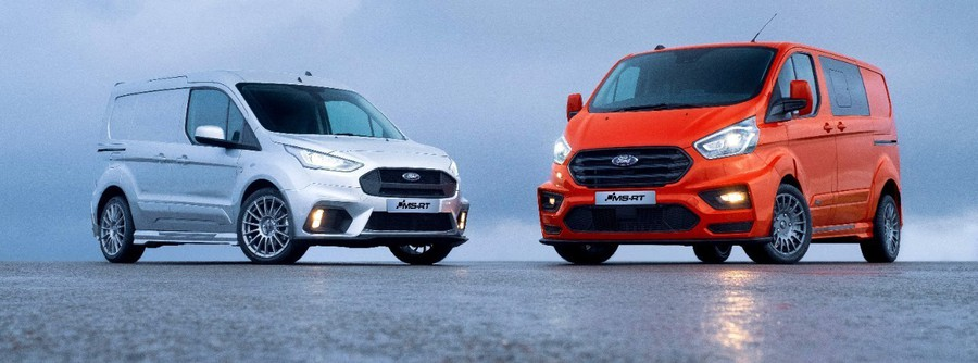 Ford Transit, ecco versioni 'spinte' ispirate a rally WRC ©