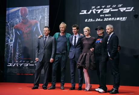 The Amazing Spider-Man world premiere