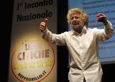 Grillo warns parties after rocking Italian politics