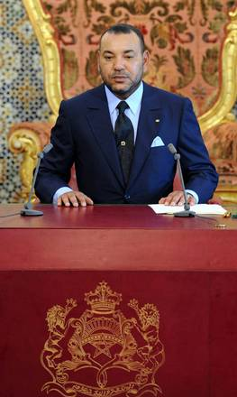 Morocco's king Mohamed VI