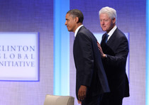 Bill Clinton e Barack Obama