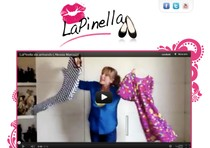 La homepage del fashion blog di Alessia Marcuzzi