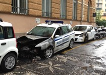 Esplode cassonetto, notte movimentata a Rapallo