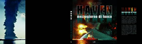 Copertina libro su disastro Haven